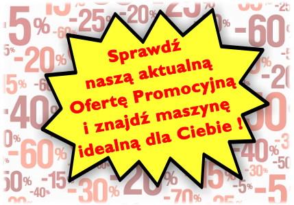 Promocje maszyn do szycia w sklepach GLOBAR i na GLOBAR.pl