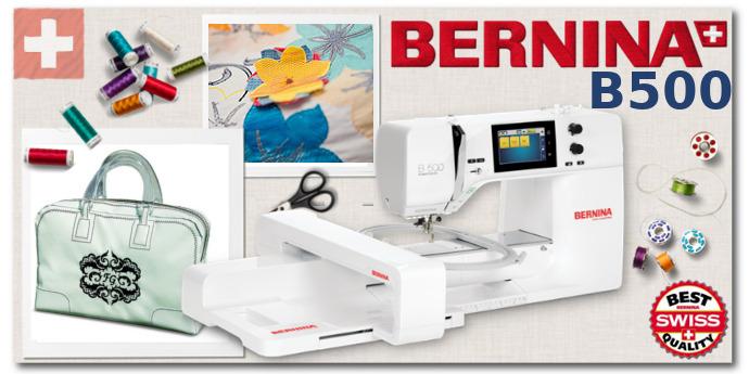 BERNINA B500 - Hafciarka komputerowa dla firm