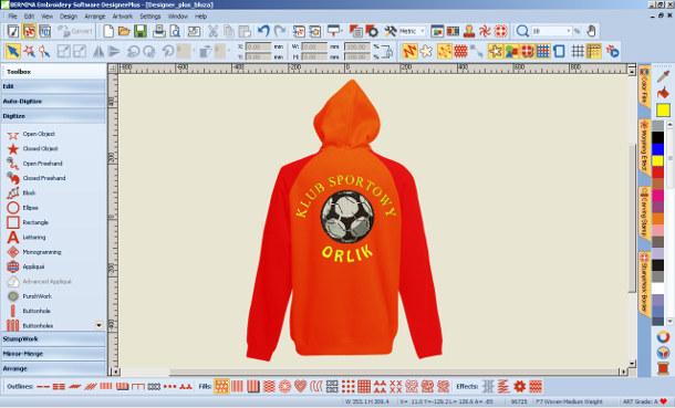 Program do haftu BERNINA-WILCOM Designer Plus