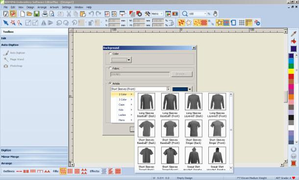 BERNINA-WILCOM Editor Plus - program do haftu
