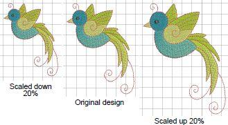 Art Design - skalowanie haftów