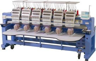 HAPPY HCR2 1506 - Przemysłowy 6 głowicowy automat do haftu