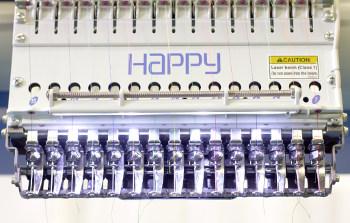 HAPPY HCR2 - Przemysłowe hafciarki wielogłowicowe