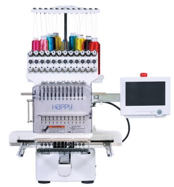 HAPPY HCS 2 - Przemysłowa maszyna do haftu dla profesjonalistów
