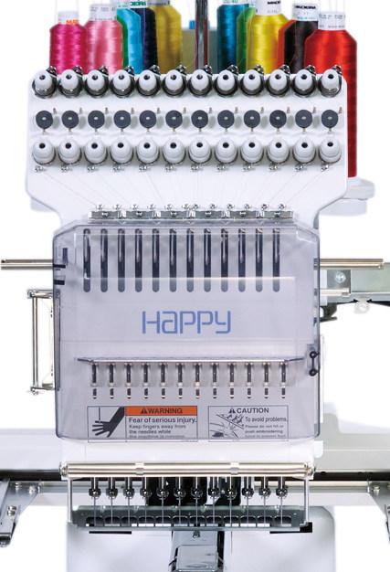 HAPPY HCS2 1201-30 - Przemysłowa Japońska hafciarka