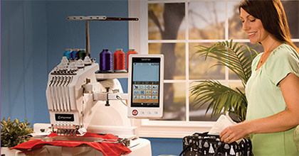 Maszyna do haftu haftowania BROTHER PR655 - Inspiracje
