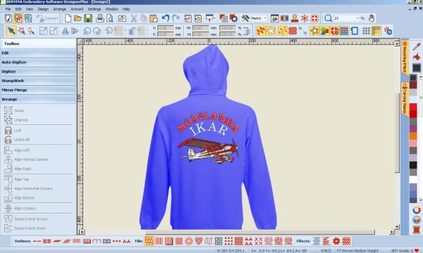 BERNINA-WILCOM Embroidery Software - DESINGER PLUS 7 CDR