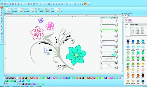 BERNINA CrystalWork - Projektowanie szablonu