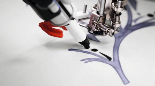 Malowanie na tkaninie - BERNINA PaintWork