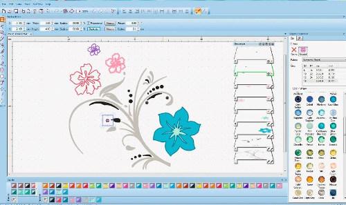 BERNINA PaintWork - Projektowanie wzorów